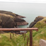 I love this shot. Want to use some old rusted railings to get to the cliff edge? We didn't.