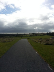 A walk in Kilbarry Park.