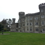 The back of Johnstown Castle was just as pretty.