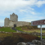 Our first stop: Dunguaire Castle, Co. Claire.