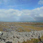 Inis Mor was beautiful! Amazing view on our walk to Dun Aengus - we even saw a rainbow.