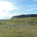 Dun Aengus looked really cool at the top of the hill, situated right on the cliffs.