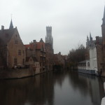 The canals in Bruges. Apparently this is the most photographed spot!