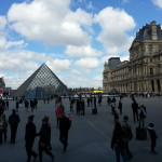 The Louvre in Paris was amazing - and we got nice weather for lining up!