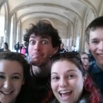 Selfie wandering the Louvre!