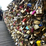 The love lock bridge