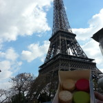 Parisian macarons under the Eiffel Tower - that's where it's at!
