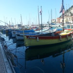 The harbour in Nice was so quaint, and the boats were so colourful!