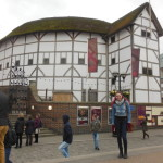 Shakespeare's one and only Globe Theatre! (This picture was actually hard to get...)