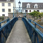 I walked across this little bridge on my day exploring Waterford.