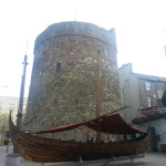 Reginald's Tower and Viking boat!
