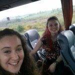 On the bus to Belfast!