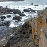 Giant's Causeway - a beautiful natural phenomenon! The rocks are so cool.