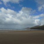 Inch Beach - a beautiful place on an amazing day.