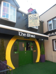 We found the Shire in Killarney - cool Lord of the Rings themed pub!