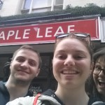 Canadian pub in London! (yes, we ate here)