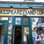 The Shakespeare & Company bookstore in Paris. Beautiful.
