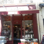 The tea shop in Paris was so quaint and nice. Everyone should go here!