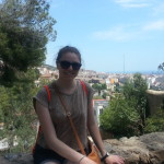 Beautiful Parc Guell in Barcelona. So many escalators, but amazing views.