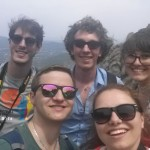 Our adventure group for the trip to Montserrat. It was so much fun hanging out with all these guys!