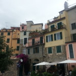 All of the buildings in Cinque Terre were beautiful colours!
