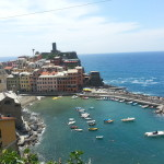 The beautiful town of Vernazza.