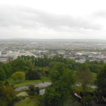 View from the top of the tower in Bristol.