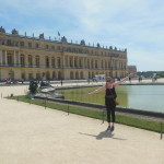 The Palace of Versailles - amazing! It was even better when the fountains turned on.