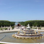 The fountains of Versailles and the waters beyond.