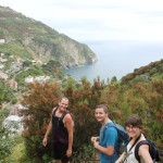 Hiking in Cinque Terre with Kirstin, Zach and Matt!
