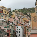 I loved the colourful houses of Manarola in Cinque Terre.