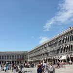 Piazza San Marco in Venice. Super crowded, but quite beautiful.