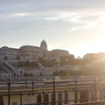Budapest at sunset is brilliantly amazing. A must see. This was looking across the Danube at the palace.