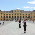 Schoenbrunn Palace was beautiful and it was a lot of fun.