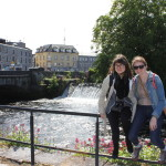 Galway Girls - the beautiful River Corrib!