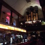 The awesome Church Pub in Dublin. The pipe organ in the back was a nice touch.