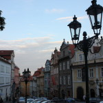 The streets of Prague were even amazing.