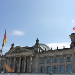 The Reichstag in Berlin. Amazing to see after I've heard so much about it.
