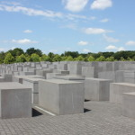 The Memorial to the Murdered Jews of Europe. It was so moving, amazing to finally see it.