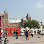 The iconic sign in Amsterdam. It was great to see it again.