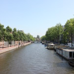 I love the beautiful canals of Amsterdam.