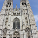 The cathedral in Brussels. We actually went in it this time!