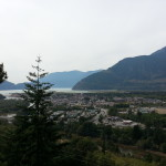Coming home, I spent a lot of time in Squamish. Ain't it pretty!?