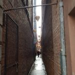 This is Fan Tan Alley in Chinatown, Victoria, and it is the narrowest street in Canada. It is really cool!