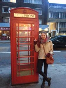 London Telephone | Juliehuff.com