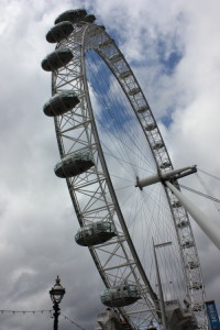 The London Eye. No caption needed.