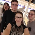 It's always a great night with these guys! Evidence that siblings can all get along - and that we all kinda suck at bowling.
