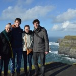 Standing on the edge of the Cliffs with my amazing friends - too many incredible memories!